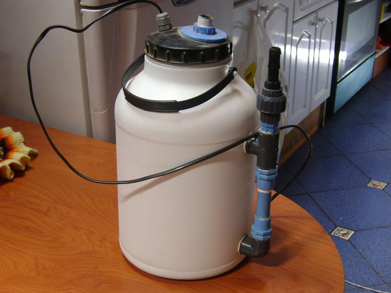 Fabricación de Filtro Externo Artesanal